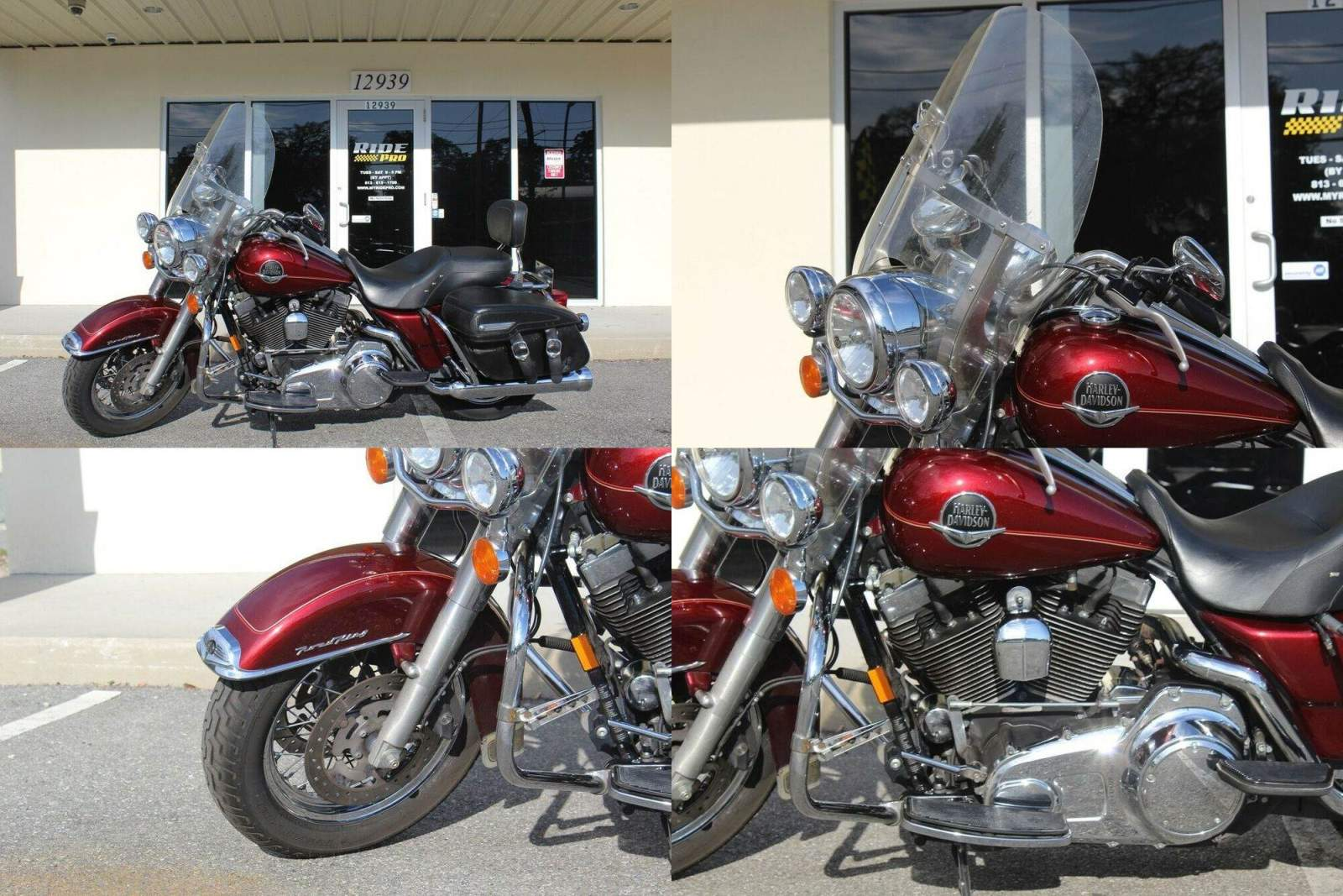 2008 Harley-Davidson Touring Road King® Classic Crimson Red used for sale craigslist