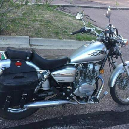 2008 Honda CMX250 C Gray used for sale