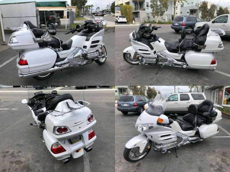 2008 Honda Gold Wing Factory Pearl White used for sale