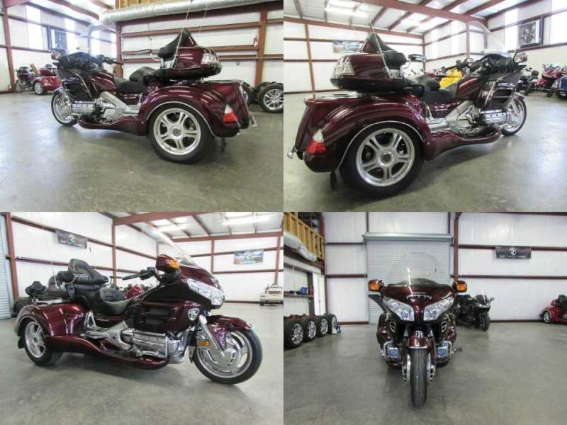 2008 Honda Gold Wing BLACKCHERRY used for sale