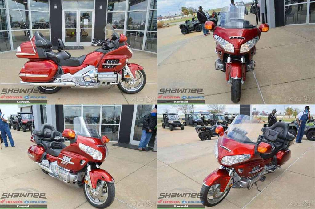 2008 Honda Gold Wing Premium Audio Red used for sale