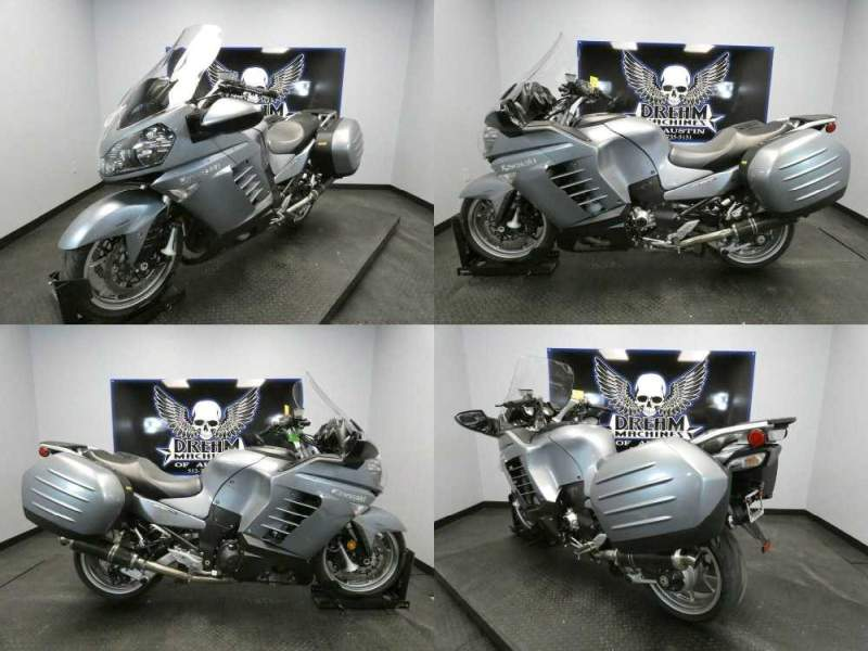 2008 Kawasaki Concours 14 ABS Silver used for sale craigslist