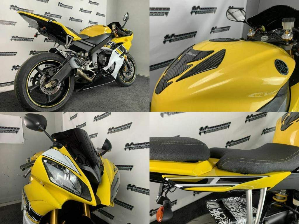 2008 Yamaha YZF-R Yellow used for sale