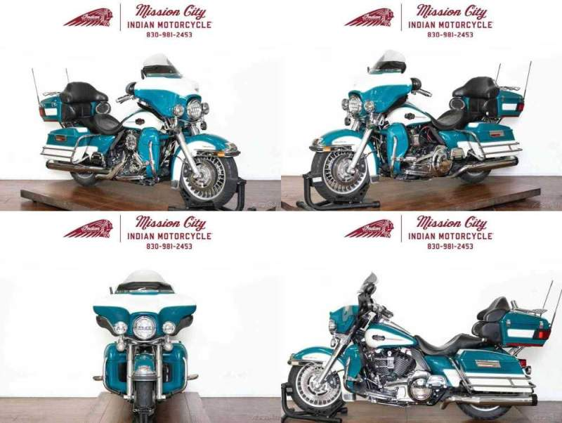 2009 Harley-Davidson Touring Deep Turquoise / Antique White used for sale craigslist