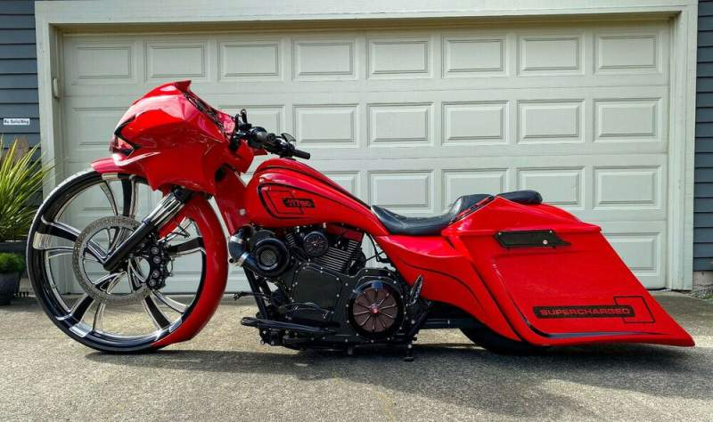 2009 Harley-Davidson Touring Red used for sale craigslist
