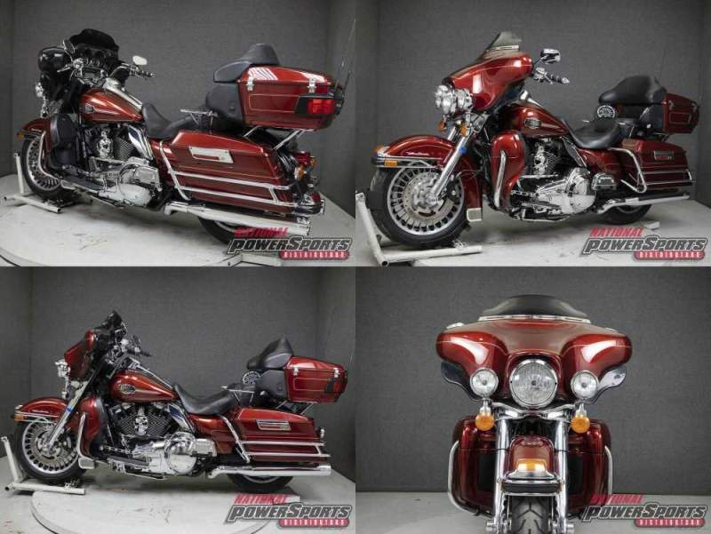 2009 Harley-Davidson Touring RED HOT SUNGLO used for sale craigslist