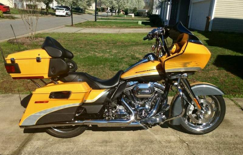 2009 Harley-Davidson Touring Yellow used for sale craigslist