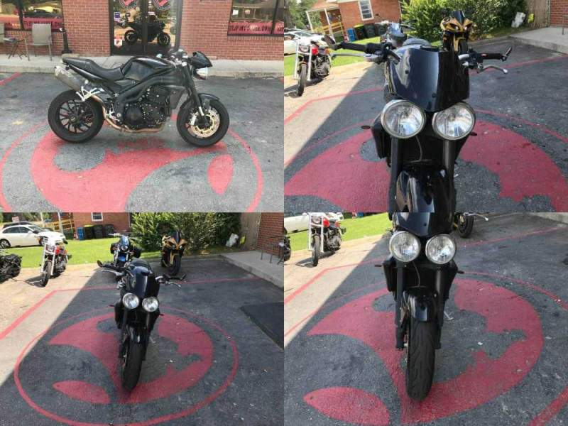 2009 Triumph Speed Triple -- used for sale