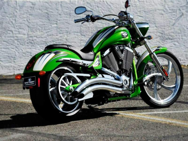2009 Victory Vegas Jackpot Lucky Lime used for sale craigslist