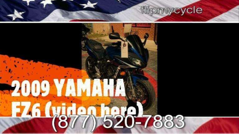 2009 Yamaha FZ 6   for sale craigslist