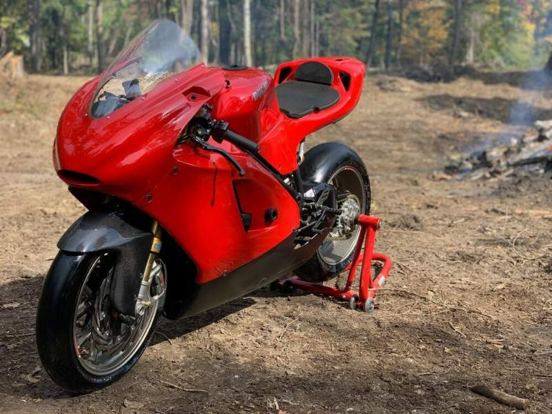 2010 Ducati 848 BASE Red used for sale craigslist