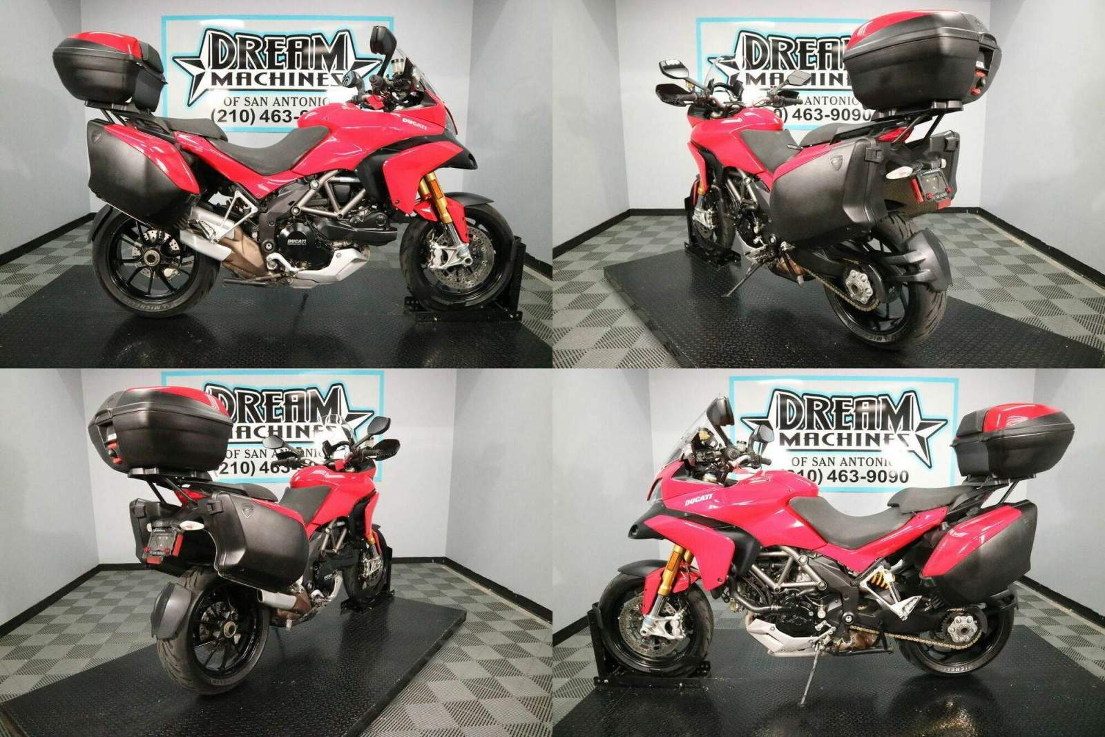 2010 Ducati Multistrada 1200 S Touring Edition Red used for sale craigslist