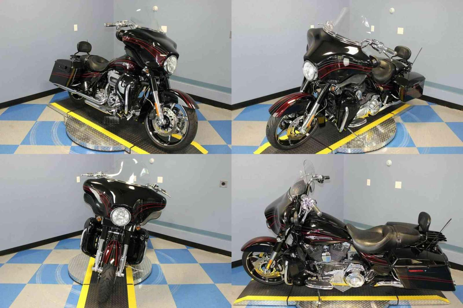 2011 Harley-Davidson CVO Street Glide Black used for sale craigslist