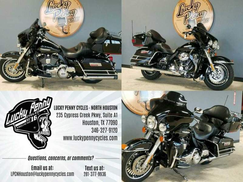 2011 Harley-Davidson Electra Glide Ultra Limited FLHTK Black used for sale craigslist
