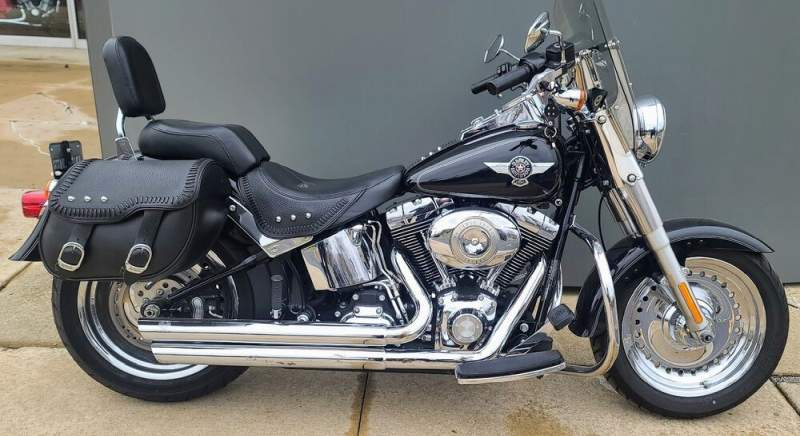 2011 Harley-Davidson Softail® Fat Boy® Black used for sale craigslist