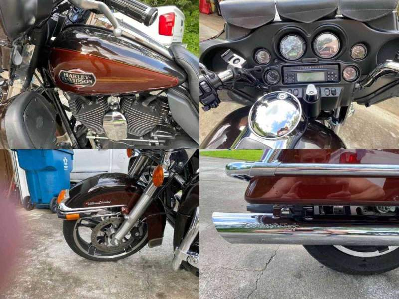 2011 Harley-Davidson Touring Brown used for sale