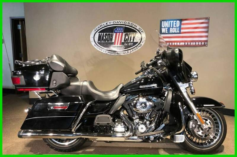 2011 Harley-Davidson Touring Electra Glide® Ultra Limited Vivid Black used for sale craigslist