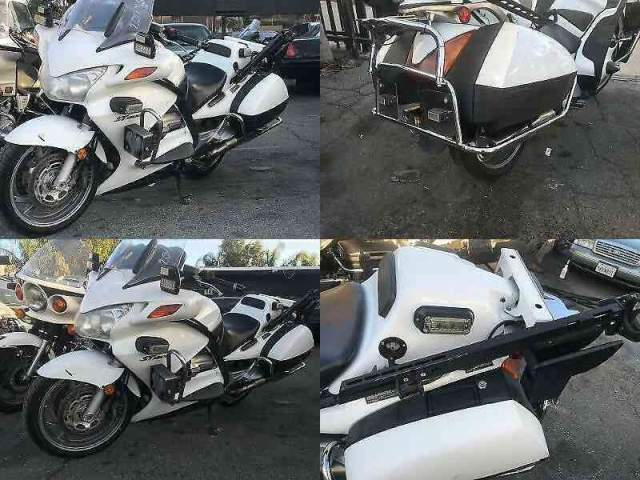 2011 Honda ST1300 POLICE White used for sale