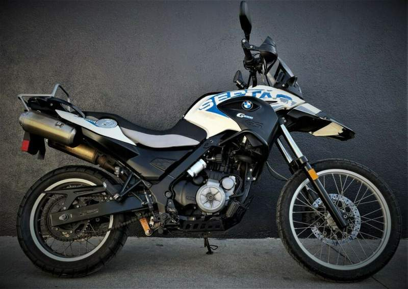 2012 BMW G 650 GS WHITE BLUE used for sale