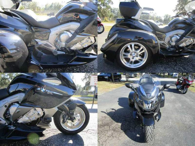2012 BMW K-Series 1600 GT Gray used for sale craigslist