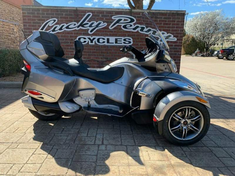 2012 Can-Am Spyder RT-S SE5 Pure Magnesium Metallic used for sale craigslist
