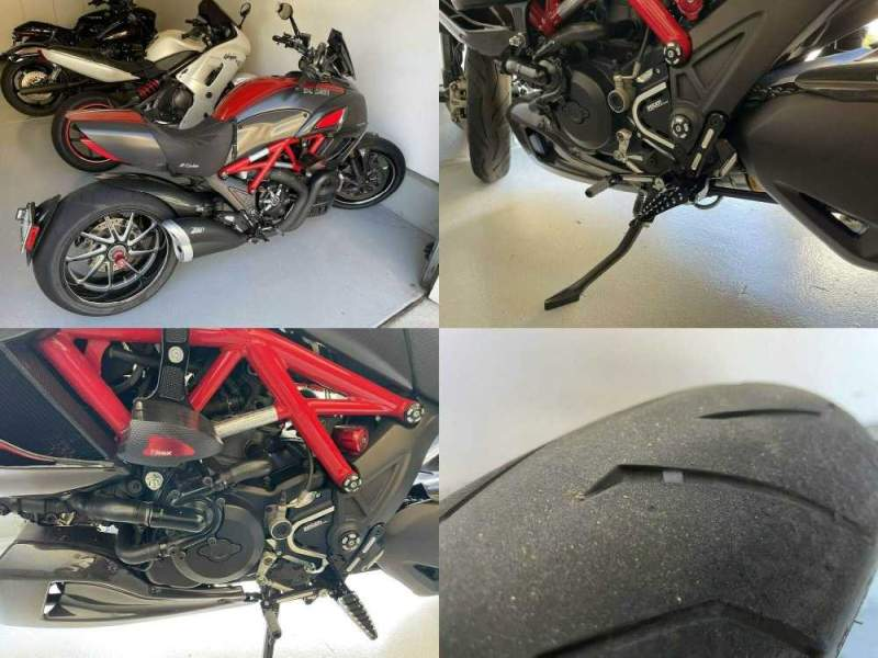 2012 Ducati Diavel Red used for sale