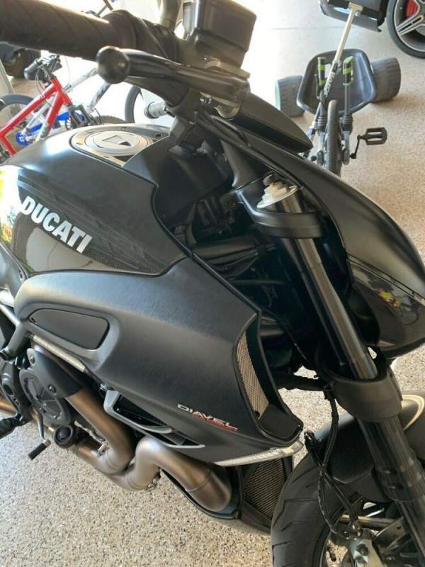 2012 Ducati Diavel Carbon Black used for sale craigslist