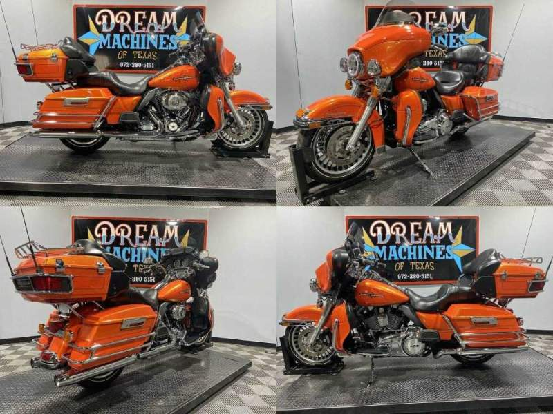 2012 Harley-Davidson FLHTCU - Electra Glide Ultra Classic Orange used for sale