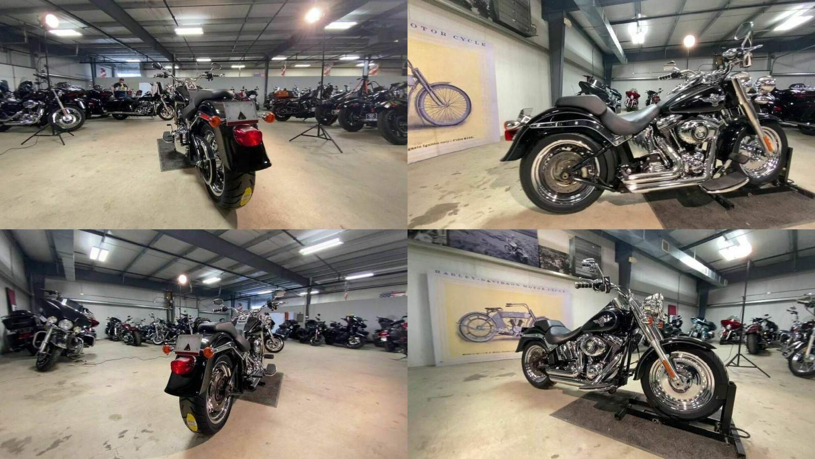 2012 Harley-Davidson FLSTF - Softail® Fat Boy® Black used for sale craigslist