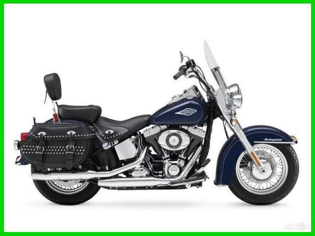 2012 Harley-Davidson Softail Heritage Classic Big Blue Pearl used for sale
