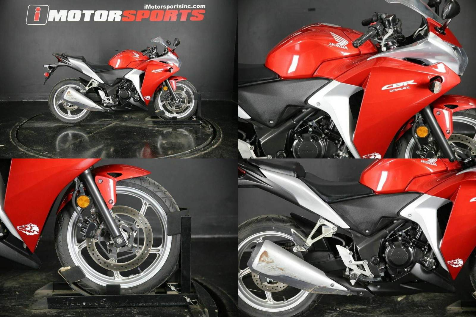 2012 Honda CBR Red used for sale