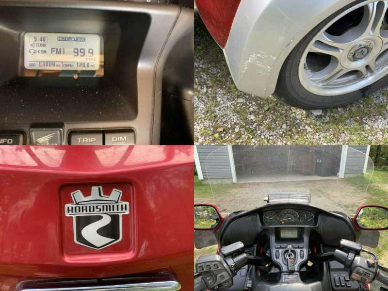 2012 Honda Gold Wing Red used for sale