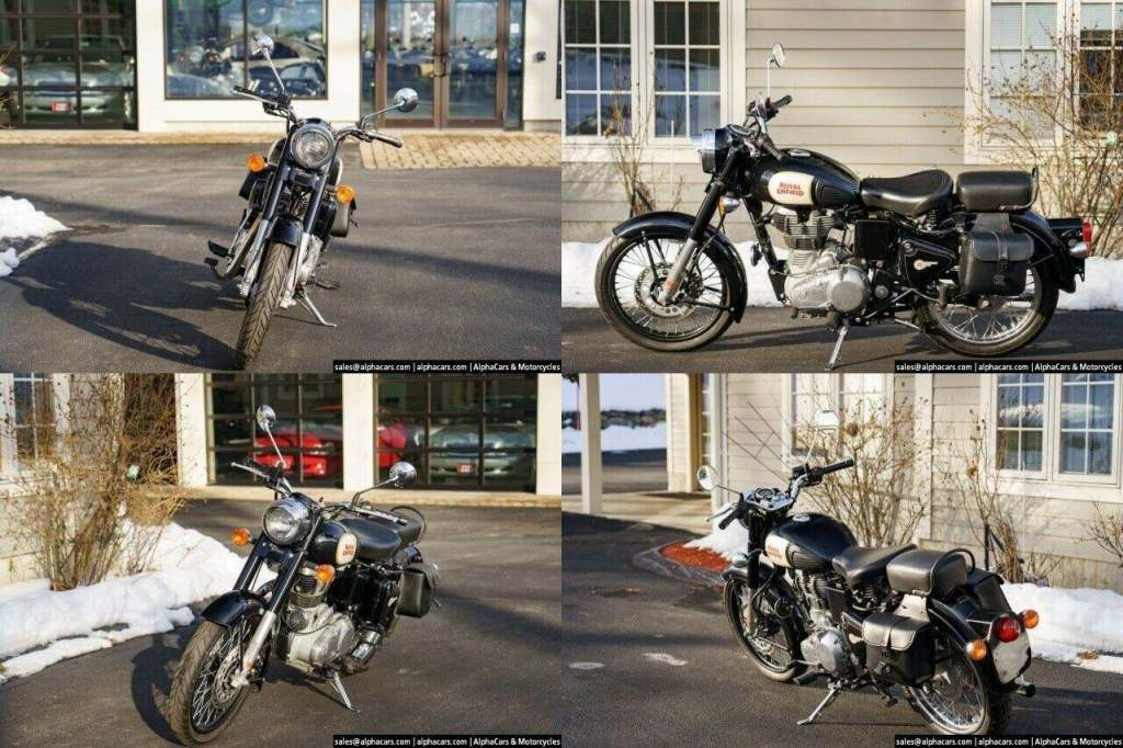 2012 Royal Enfield Bullet Classic 500 Black used for sale craigslist