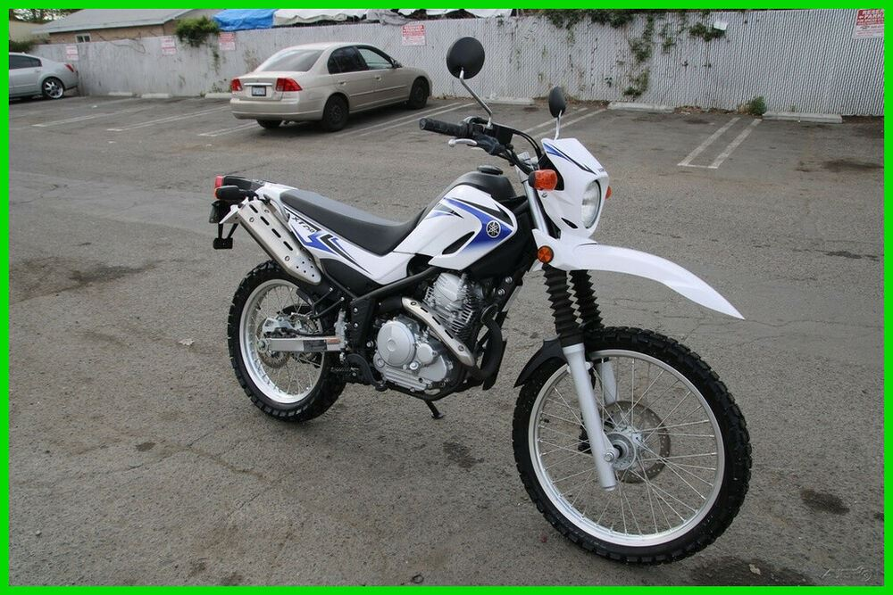 2012 Yamaha XT 250 White and Blue used for sale craigslist