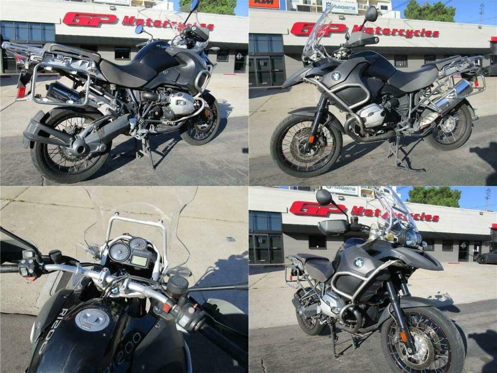 2013 BMW R1200GS Adventure Black used for sale