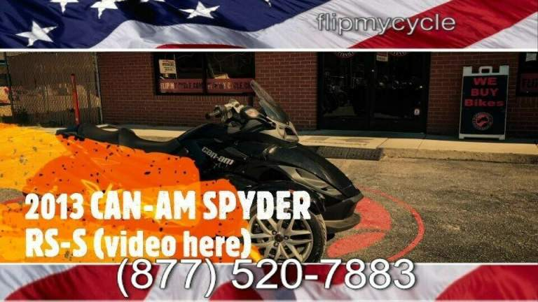 2013 Can-Am SPYDER RS/RSS -- used for sale craigslist