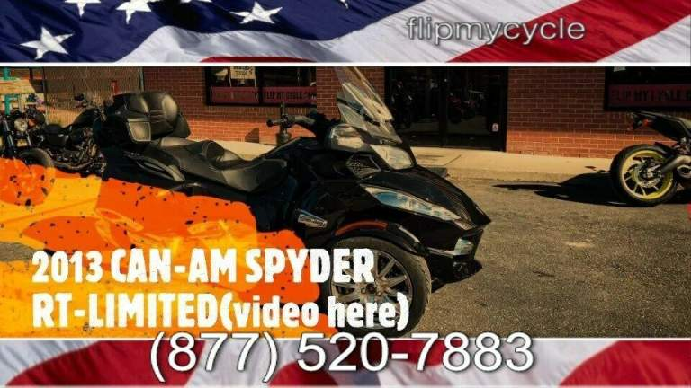 2013 Can-Am SPYDER RT/RTS/R -- used for sale craigslist