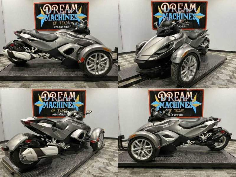 2013 Can-Am Spyder RS-S SM5 Magnesium Metallic used for sale craigslist