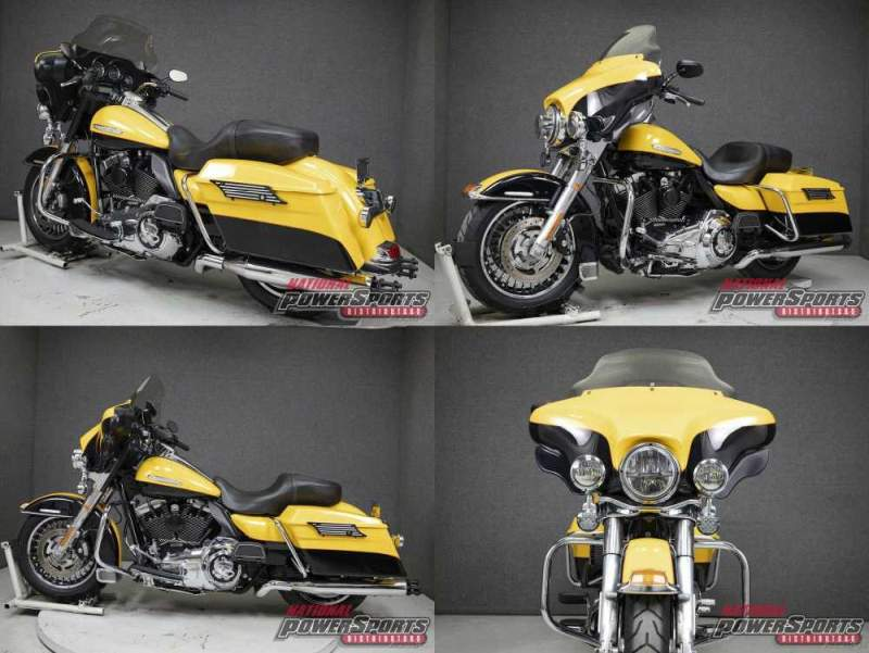 2013 Harley-Davidson Touring FLHTK ELECTRA GLIDE ULTRA LIMITED WABS CHROME YELLOW/VIVID BLACK used for sale craigslist