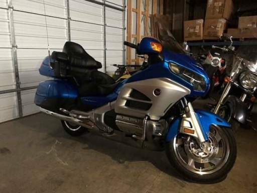 2013 Honda Gold Wing Blue used for sale craigslist