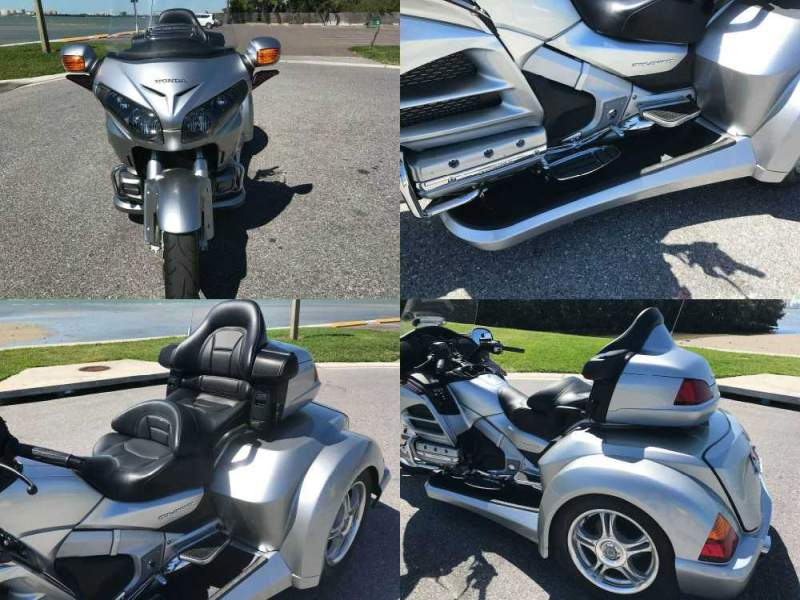 2013 Honda Gold Wing Digital Silver used for sale