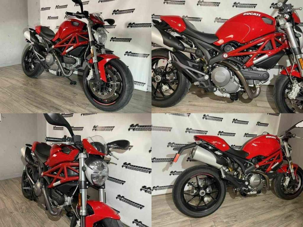 2014 Ducati Monster 796 Red used for sale