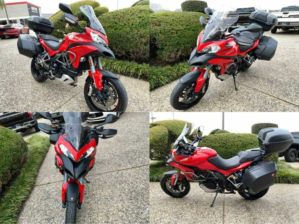 2014 Ducati Multistrada 1200S Red used for sale
