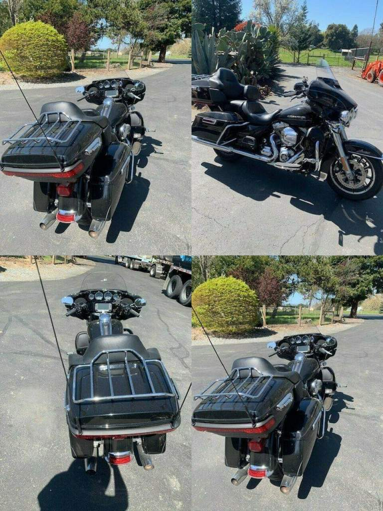2014 Harley-Davidson FLHTK ELECTRA GLIDE ULTRA LIMITED Black used for sale craigslist