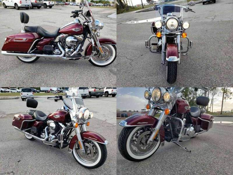 2014 Harley Davidson Road King  for sale craigslist