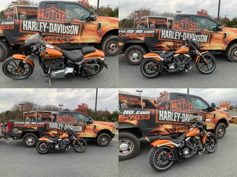 2014 Harley-Davidson Softail Amber Whiskey used for sale