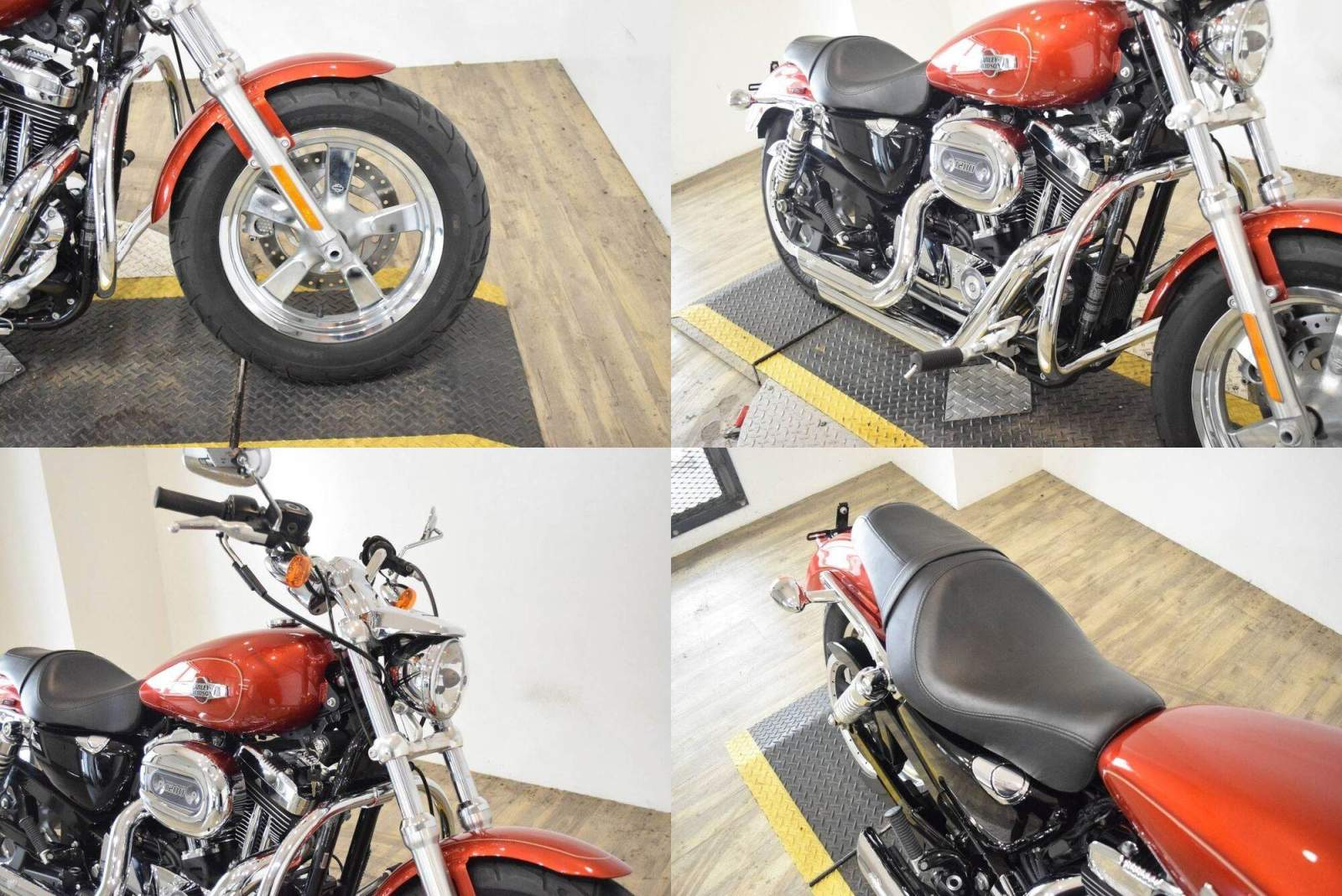2014 Harley-Davidson XL1200 Sportster Red used for sale craigslist
