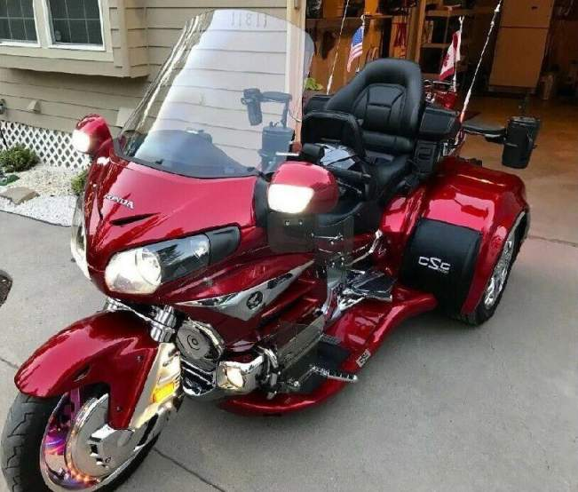 2014 Honda Goldwing 1800 Red used for sale