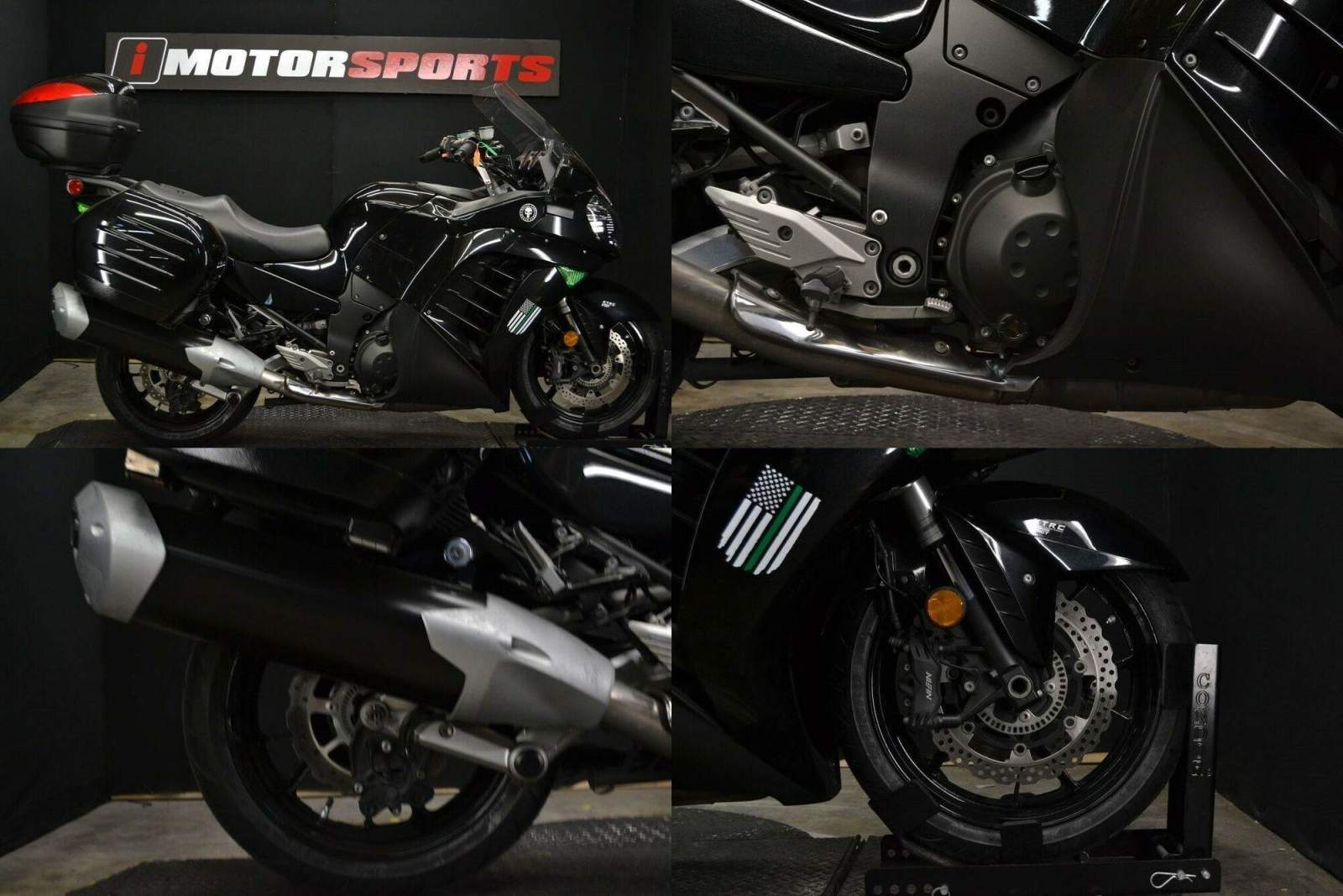 2014 Kawasaki Concours14 ABS Black used for sale craigslist