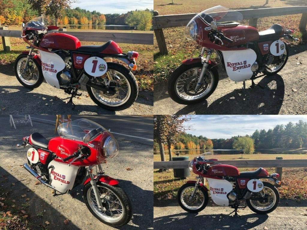 2014 Royal Enfield CONTINENTAL GT Red used for sale craigslist